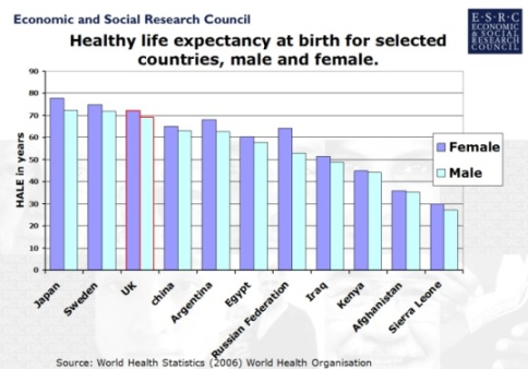 ethnicity and patterns of health and illness